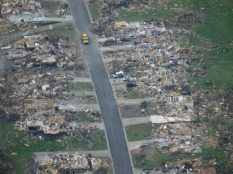 Spay and Neuter Kansas City helped after the storm in Joplin.