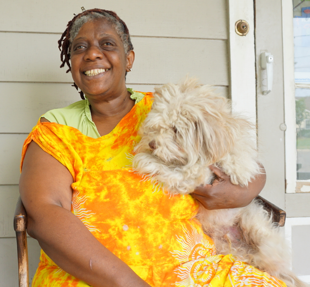 Friends like Virginia and Butter are why we work in the community every day.