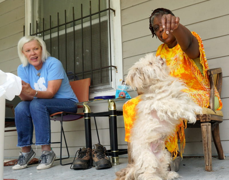Our Families Better Together team has a unique relationship with the pets and people of our community.