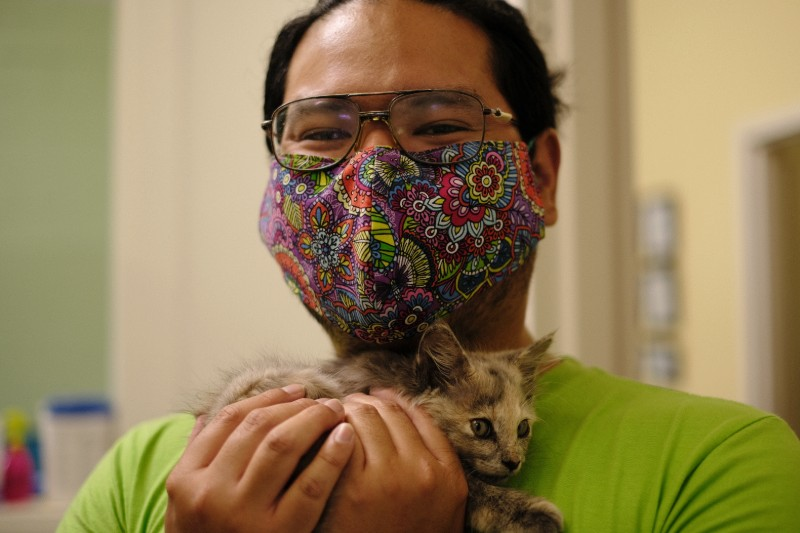 This is who we are at Pet Resource Center. Caring and committed.