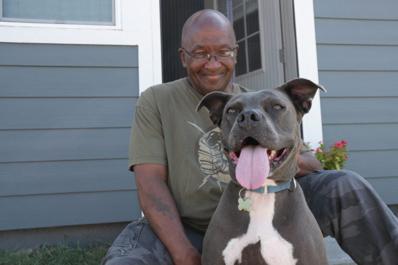 Dogs like Blue help people have better lives.