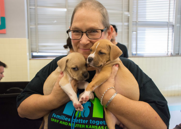 Puppies and kittens make great friends. And by helping their human families, we help them.