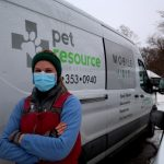 Our veterinarians don't hesitate to go where needed.