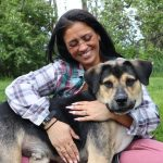 Kari rescued Ransom from the streets and gave him a loving home.