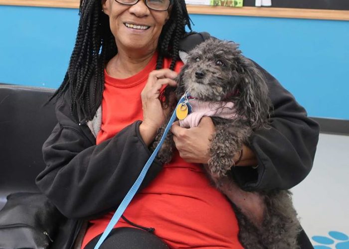 Marie came to us when Precious began having painful dental problems.