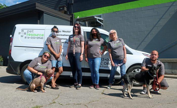 community engagement department at Pet Resource Center of Kansas City