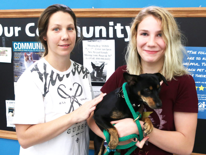 Necole is helping cut down on pet homelessness by opening her home and her heart to dogs like this one.